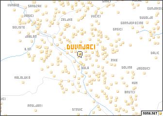 map of Duvnjaci