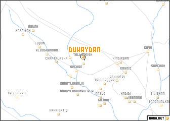 map of Duwaydān