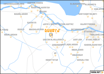 map of Duwayj