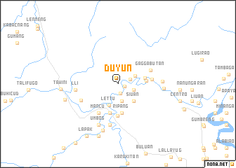 map of Duyun