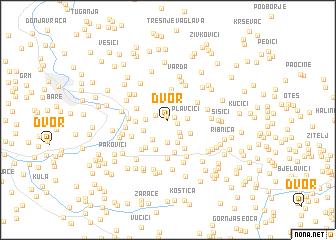 map of Dvor