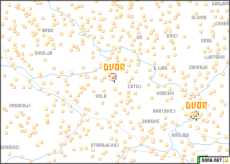 map of Dvor