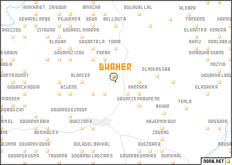 map of Dwaher