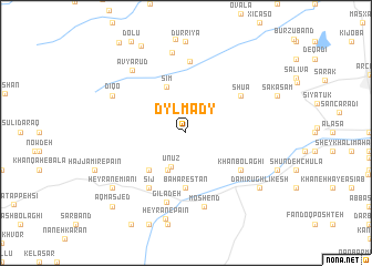 map of Dyl'mady