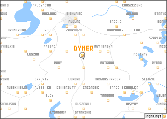 map of Dymer