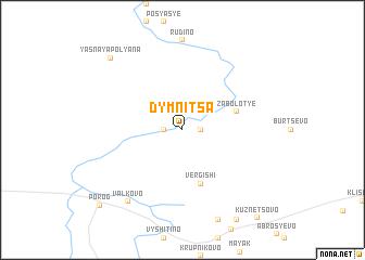 map of Dymnitsa