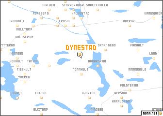map of Dynestad