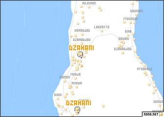 Dzahani Comoros map nonanet