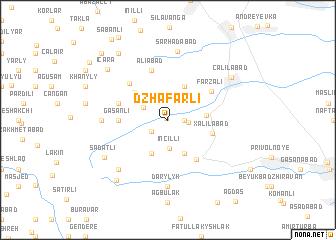 map of Dzhafarli