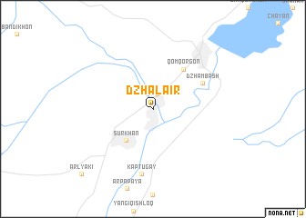 map of Dzhalair