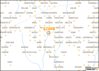 map of Dzuma