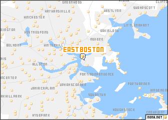 Boston massachusetts on us map