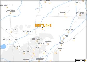 Eastlake (United States - USA) map - nona.net