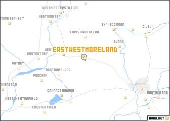 map of East Westmoreland