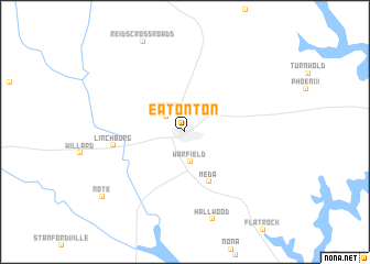 map of Eatonton