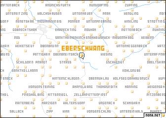 map of Eberschwang