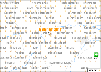 map of Eberspoint