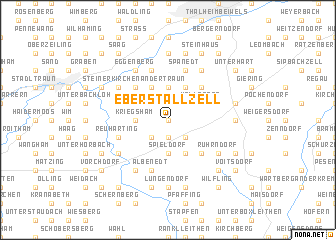 map of Eberstallzell