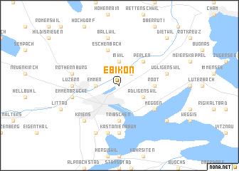 map of Ebikon