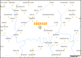 map of Ebomkop