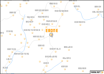 map of Eboné