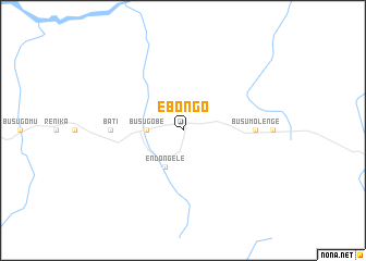 map of Ebongo