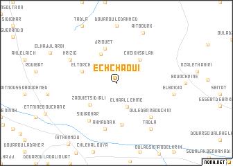 map of Ech Chaoui