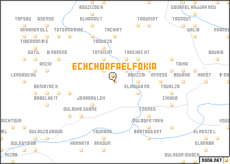 map of Ech Chorfa el Fokia