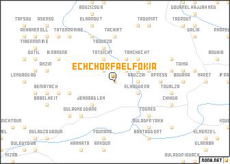 map of Ech Chorfa el Fokia