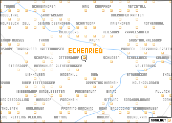 map of Echenried