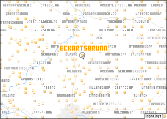 map of Eckartsbrunn