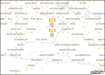 map of Eck