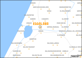 map of Ed Dalaba