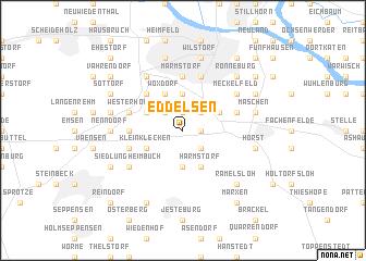 map of Eddelsen