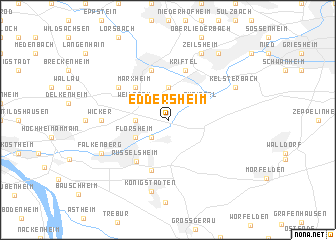 map of Eddersheim