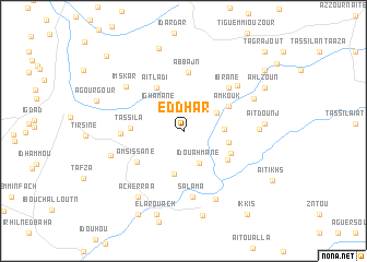 map of Ed Dhar