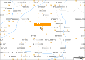 map of Eddouiene