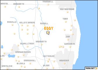 map of Eddy