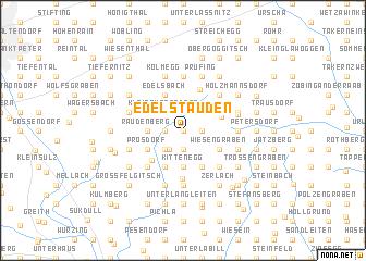 map of Edelstauden