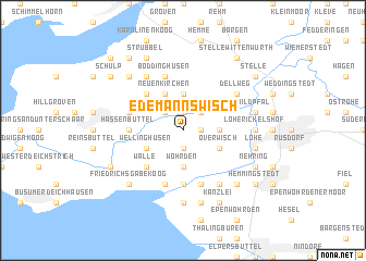 map of Edemannswisch
