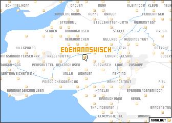 map of Edemannswisch