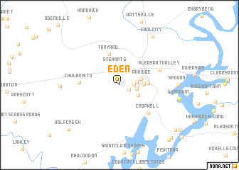 map of Eden
