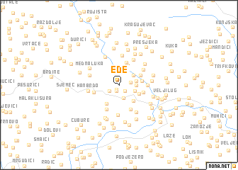 map of Ede