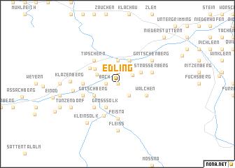 map of Edling