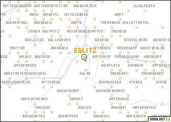 map of Edlitz