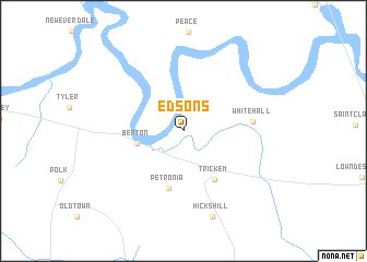 map of Edsons
