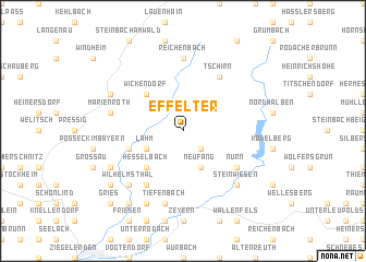 map of Effelter