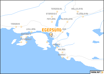 Egersund Norway map nonanet