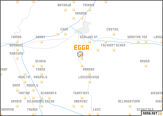 map of Egga