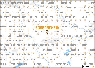 map of Eggenscheid